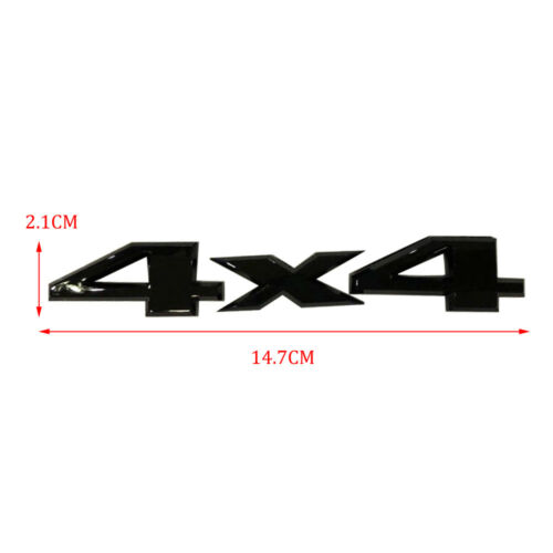 SUV Black 4x4 Logo Sticker Car Body Rear Trunk Bumper Emblem Decal Accessories