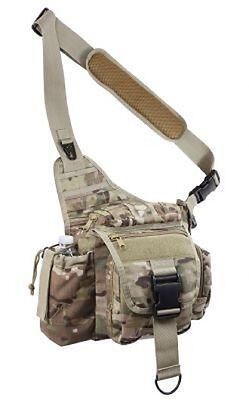 Dinamico Us Advanced Army Multicam Outdoor Tactical Combat Shoulder Hipbag Schultertasche