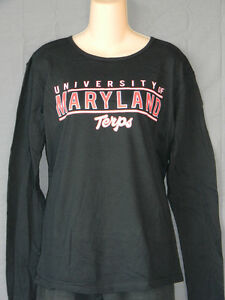 Image is loading NEW-University-of-Maryland-Terrapins-Women-039-s-T- dd5cb10e77