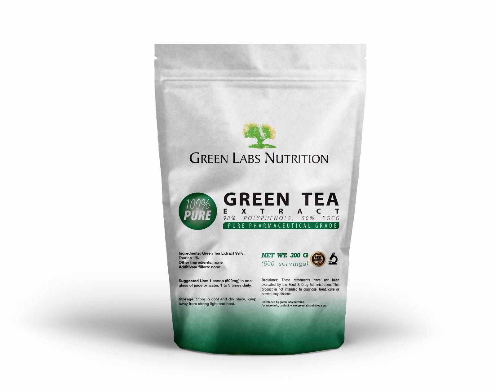 Extrait de thé vert en poudre 50% EGCG Grün Tea