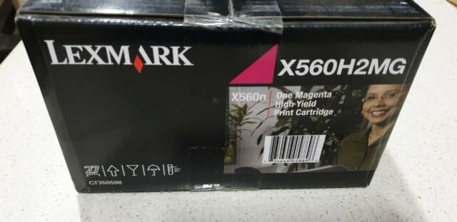 Genuine Lexmark X560H2MG Magenta Toner for X560N High Yield Brand New See Photos