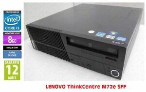Lot de 5 x  Lenovo ThinkCentre M72e Core I3-2120 3.3GHz 8Go RAM Sans disque dur