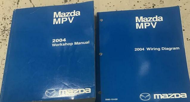 Diagram 2001 Mazda Mpv Service Shop Repair Manual Set Oem Service Manual And The Wiring Diagrams Manual Full Version Hd Quality Diagrams Manual Pdfxroppy Noidimontegiorgio It