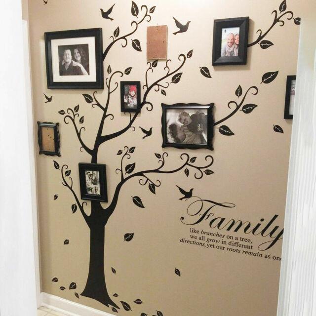 D Family Tree Vinyl Wall Sticker Decal