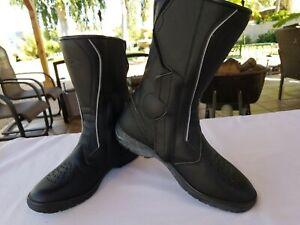 SIDI-Livia-Lei-Rain-Motorcycle-Riding-Touring-Boots-Black-Womens-U-S-9-5-EUR-42