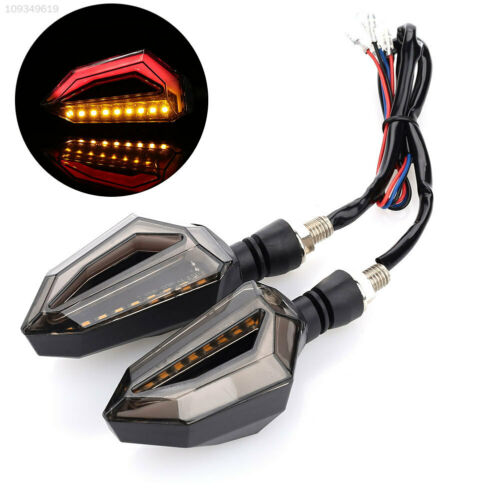 6E03 Turn Signal Light Motorcycle Super Bright Refit 12V Durable Replacement