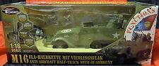 RC m-16 US-mezzo catene veicolo, canale 5, luce e suono, Torro, 1:16, * NUOVO *