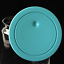 thumbnail 5 - A di Alessi Gianni Glass Jar, Blue Lid, 140 cl, AMDR06 AZ