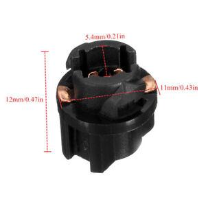 10x T5 Socket Twist Lock PC74 73 Instruments Panel Cluster Plug Dash Light Bulb