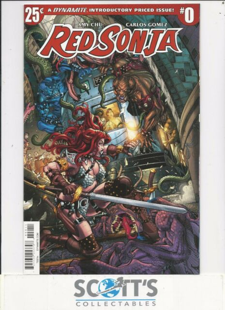 Red Sonja Vol 5 #8 Cover A VF 2017 Dynamite Comic Vault 35