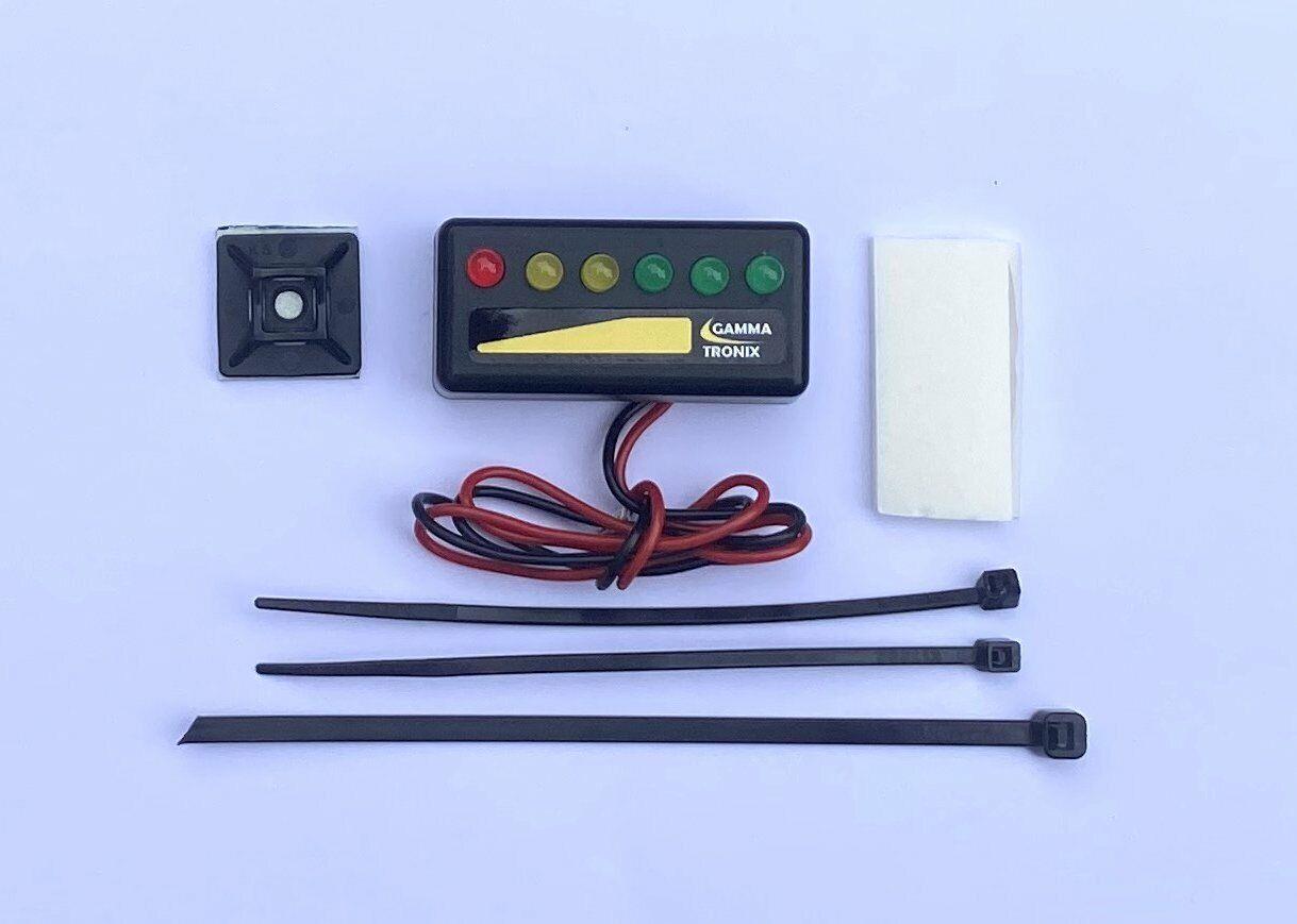 6v 12v 24v LED Programmable battery monitor level meter indicator gauge warning