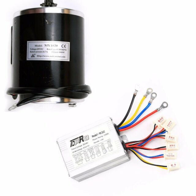 48V 1000W E-bike Scooter Electric Bicycle Brush Motor + Speed  Controller Box