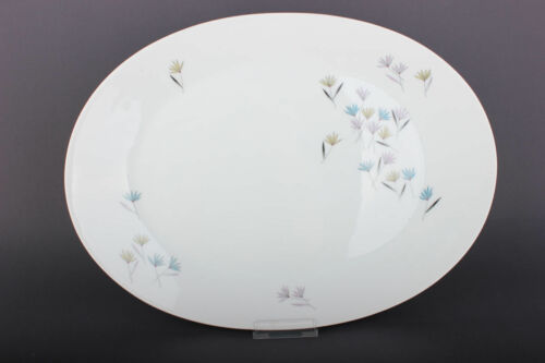 Rosenthal Form 2000 Blütenspiel  ovale Platte Fleischplatte   38,8 cm