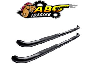 "Westin For 09-14 Ford F-150 E-Series Round Nerf Bars 3/""Black Powder 23-3515"