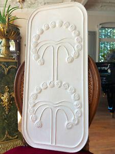 Stucco-Jugendstil-120-6086-Wanddekor-Deckendekor-76-x-34-5-cm-aus-Stuck