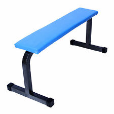 Fitfly Premium Quality Weight Lifting Flat Bench for Home Gym Exercises