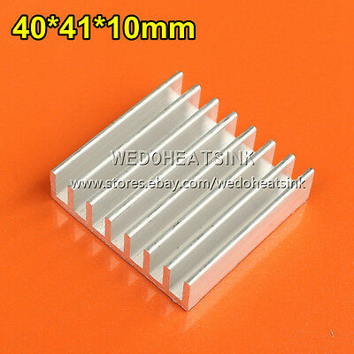 2pcs Aluminum Thick 40x41x10mm LED Heatsink Radiator Heat Sink Cooler