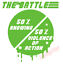 Knowing-Half-The-Battle-Violence-Action-Truck-Vinyl-Decal-Window-Sticker-Car thumbnail 4
