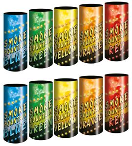 Fumigènes 30 secondes multi couleurs
