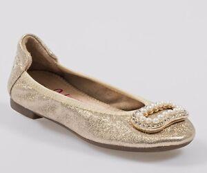 marchi riconosciuti attraente e resistente vendita professionale Dettagli su LELLI KELLY MAGICHE LK4100 ORO scarpe bambina ballerine  mocassini fibbia glitter