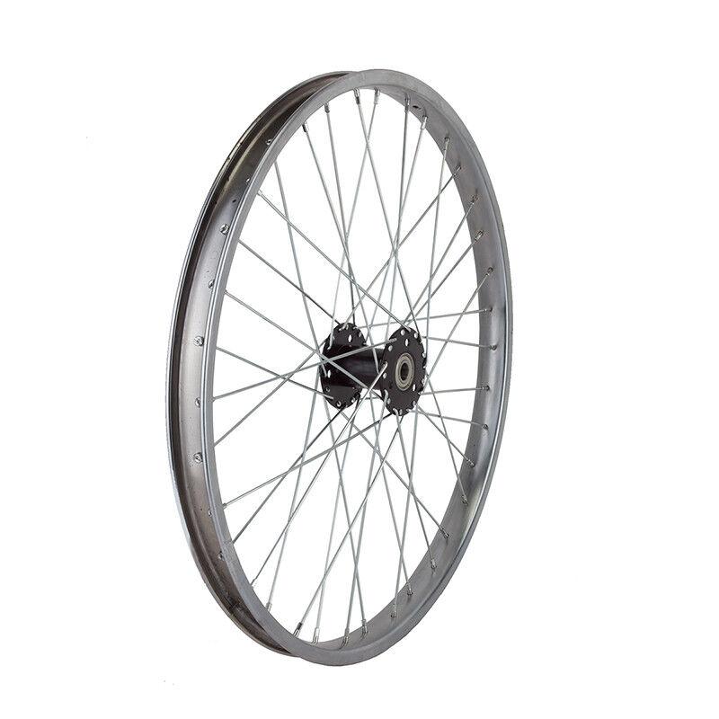 WM Wheel  Rear 24x1.75 507x28 Stl Cp 36 Trike 15mm W bearings 12gucp