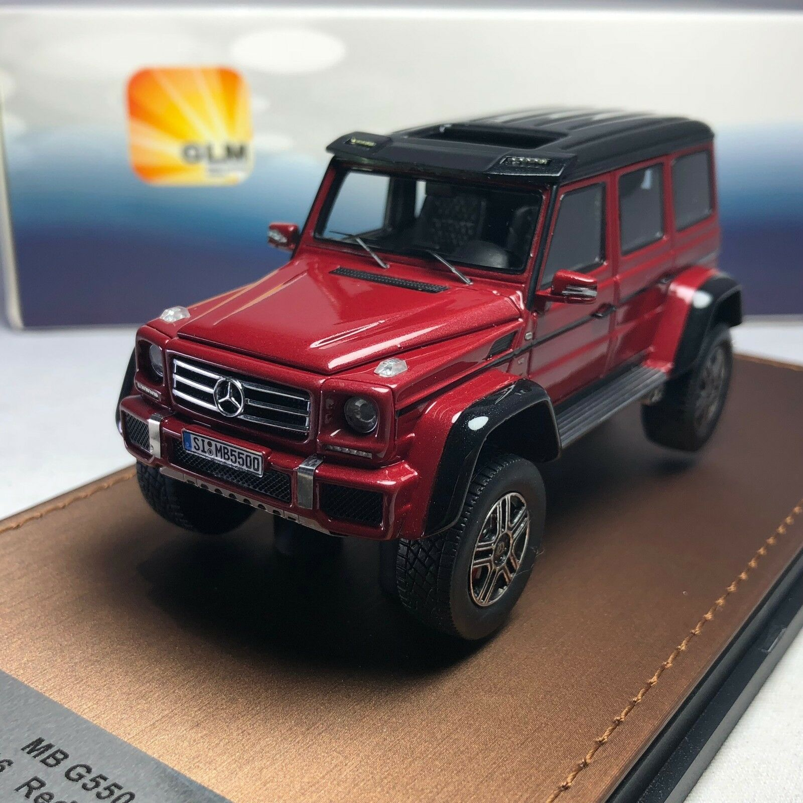 tienda en linea 1 43 GLM Mercedes-Benz Mercedes-Benz Mercedes-Benz G550 4×4 ² GLM205705 Rojo  Tu satisfacción es nuestro objetivo