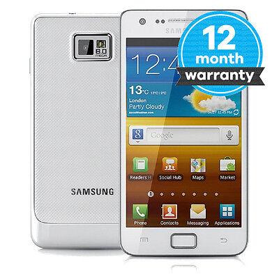 Samsung Galaxy S II - I9100 - 16 GB - White (Unlocked) Smartphone