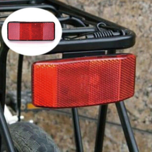 Bicycle Rack Tail Safety Caution Warning Reflector Disc Panier Rear Reflective