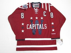 ALEX OVECHKIN WASHINGTON CAPITALS 2015 NHL WINTER CLASSIC REEBOK JERSEY