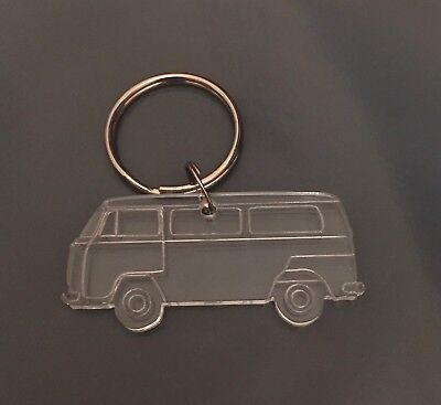 Transit Van Keyring Keychain Bag Charm Gift Treat in acrylic