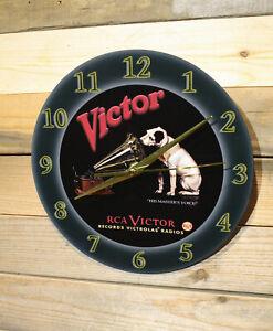 "Mountain Dew Vintage-Style Cola Soda Wall Clock Lg 9/"" no tick Motor Sweep Hand"