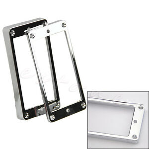 Image is loading 2-pcs-Chrome-Plated-Plastic-Guitar-Pickup-Frame-  sc 1 st  eBay : chrome plated plastic - pezcame.com