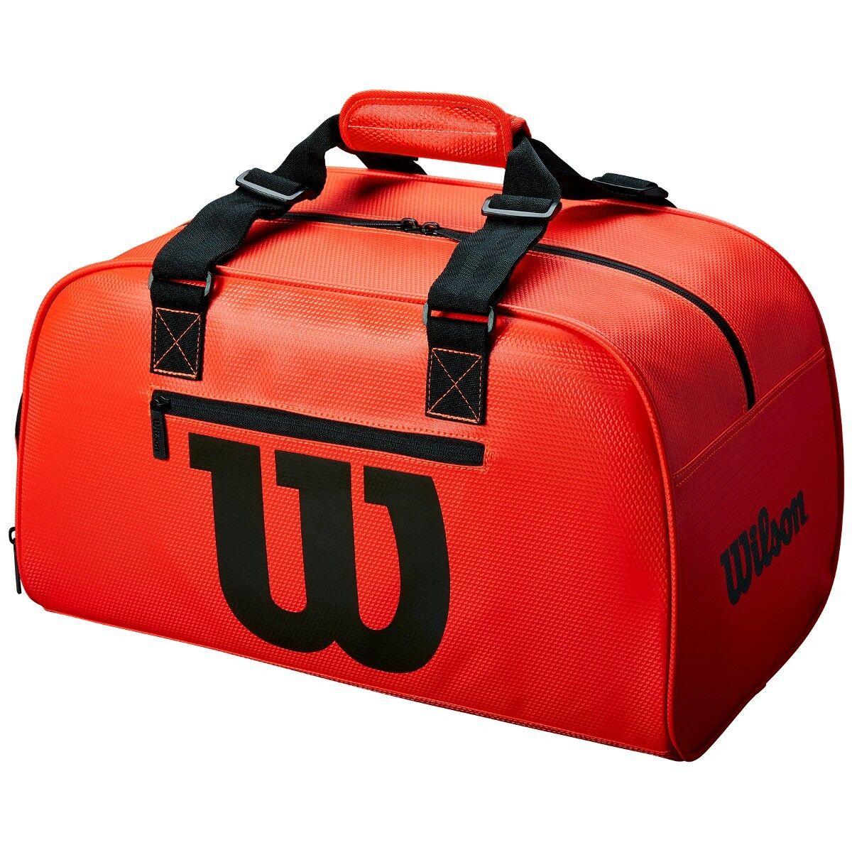 Wilson - WRZ847991 - Premium Infrared Duffle Tennis Bag Red