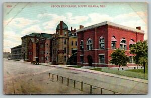 South-Omaha-Nebraska-Stock-Exchange-Evans-Snider-Buel-Co-Geo-Burke-c1910
