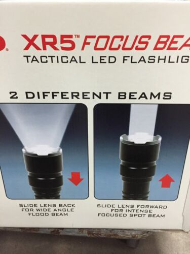 Nouveau Tasco XR5 Focus Beam Tactical Flashlights 250 LM DEL CREE corps en aluminium