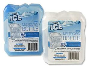 2-x-Drinking-Bottle-Blue-White-Cool-Ice-Pack-Lunch-Bag-Cold-Water-Drinks-250ml