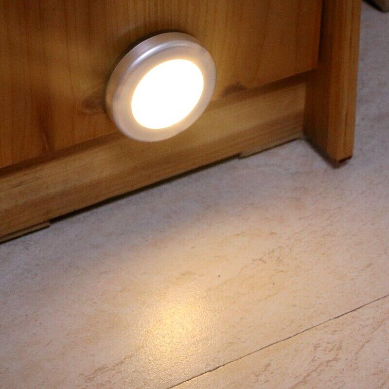 16 led capteur de mouvement armoire capteur lumière pir chambre à coucher armoire garde-robe lumières