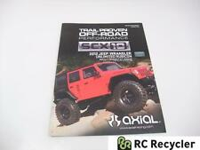 Axial SCX10 Jeep Wrangler Unlimited Assembly Manual Kit Version AX90027