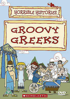 1 of 1 - Groovy Greeks horrible histories (DVD, 2005) new and sealed freepost