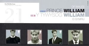 17-JUNE-2003-PRINCE-WILLIAM-21st-BIRTHDAY-PRESENTATION-PACK-348-MINT-CONDITION