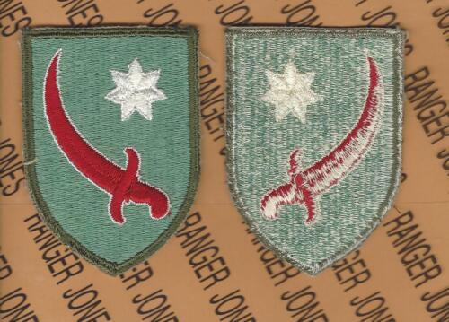 US Army Persian Gulf Command WWII uniform patch c//e