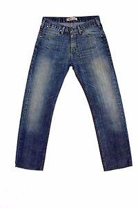89e8c7dbf8a2 Detalles de Vaqueros Levis 504 desvaído estilo vintage Denim Azul 80s Red  Tab pierna recta W29 L30 Look!!!- ver título original