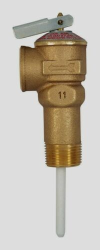 "CASH ACME Temperature Pressure Relief Valve 3//4/"" Water Heater Tank 18822A-0150"