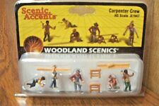 NEW Woodland Carpenter Crew HO Train Figures A1947 FREE US SHIP