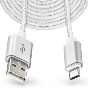 3M-Largo-Micro-USB-Cable-Enchufe-Cargador-para-Samsung-Galaxy-S7-S6-Edge-Plus