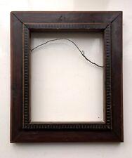 Antico Vintage inserto decorativo in legno massello arte lavoro DIPINTO CORNICE