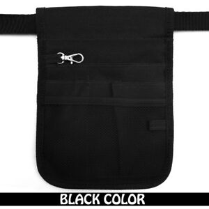 Nurse-Vet-Physio-Teacher-Medical-Professions-Waist-Pouch-Black-Color