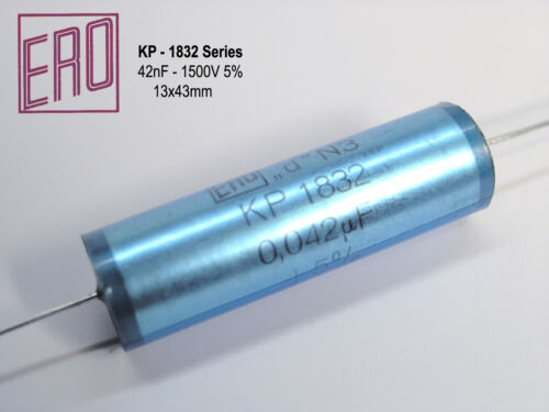 Hi-End Audio Grade Capacitors  x 4 PIECES 42nF KP1832 // 0.042uF 1500V ERO