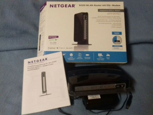 NETGEAR Router DGN2200 N300 Wireless ADSL2+