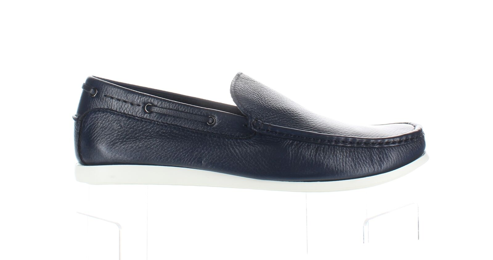Kenneth Cole Mens Pot Luck Navy Loafers Size 9 (1801318)